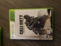 Call of Duty Advanced Warfare Xbox 360 game case 44 km