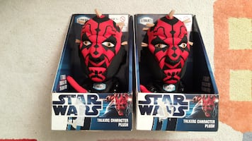 darth maul talking plush toy