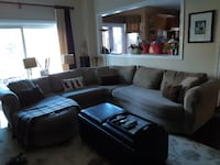 Sectional Couch Right  Facing Chaise  Newmarket