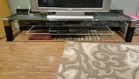 Glass TV stand (TV not included) Brampton, L6S