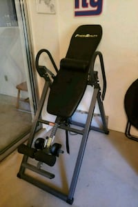 black and gray inversion table with lumbar support Deltona, 32725
