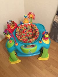 Baby's blue and green activity center Price, 84501