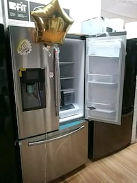 gray french door refrigerator with dispenser Pomona, 91766