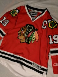 Chicago Blackhawks jersey stitched official Winnipeg, R3B 3C3