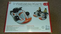 white and orange inflatable kart for wii box Westminster, 92683