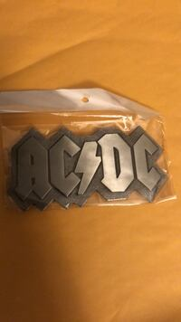 AcDC belt buckle brand new Winnipeg, R2J 4K8