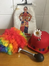 Kids clown costume size (small 4-6) Dayton, 45404