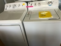 GE white top load washer and dryer  Woodbridge, 22191