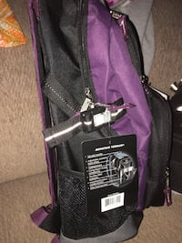 black and purple Graco travel system Hanover, 17331