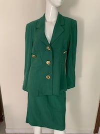 cappotto button-up verde