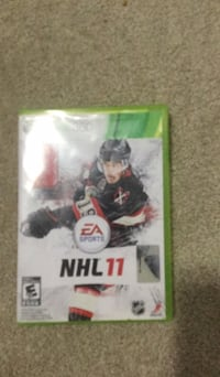 Ea sports NHL 11 Xbox 360 game Brampton, L6R
