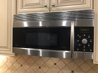 stainless steel and black microwave oven Gaithersburg, 20878