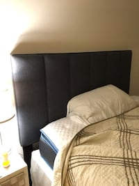 Queen bed with head and box Fairfax