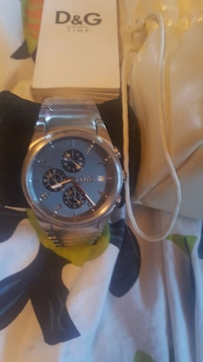 D&G watch with box and bag