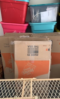 30 Home Depot cardboard moving boxes North Las Vegas, 89031
