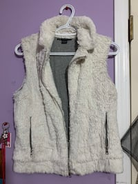 Armani Exchange Reversible Faux Fur Vest Jacket