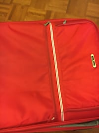 Bright red suit case luggage Mississauga, L4T 1Y3
