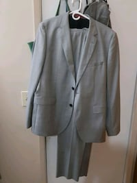 Hugo boss Grey 2 button 2 piece mans suit Edmonton, T6E 1K4