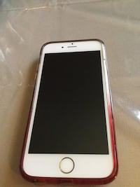 gold iPhone 6 with red case Hamilton, L9C 2V4