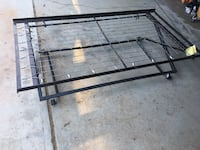 Collapsible twin metal bed frame  Chatsworth, 91311