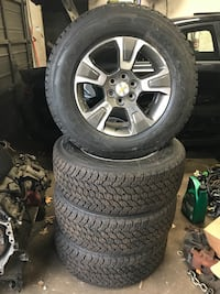 New Chevy Tahoe rims with tires all four Elkridge, 21075