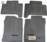 Toyota 4Runner - 2015, New genuine floor mats  Ajax