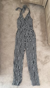 black and white striped pants London, NW2 1FB