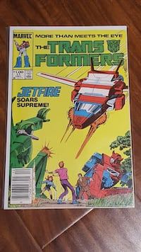 Transformers comic book Marvel