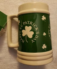 CERAMIC MUGS $8 EACH ST PATTY'S DAY