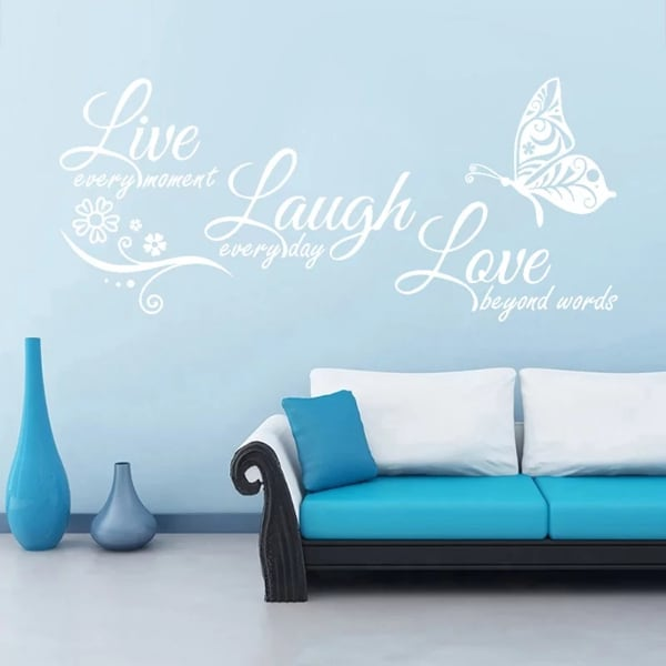 Brand New - Live Laugh Love Wall Decal