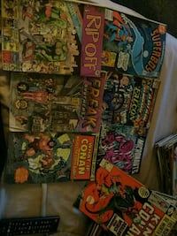 7 old comic books  Toronto, M6K 3G7