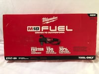 """Brand new in the box Milwaukee M18 fuel brushless 1/2"""" chuck Hole HAWG right angle drill. Tool only  Vacaville, 95687"""