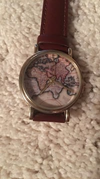 World watch with brown band  Troy, 48085