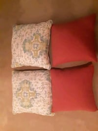 Ralph Lauren decorative pillows 20×20 red....50 for set or 80 for ever