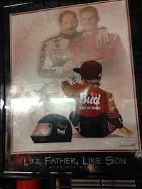 Like Father, Like Son painting with wooden frame Rock Hill, 29732