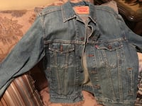 blue Levi jean button-up jacket size adult Small Boonsboro, 21713