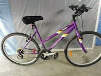 purple and black hardtail mountain bike Mississauga, L4Z 3Y2