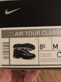 Black-and-white Nike Golf shoes Arlington, 22206