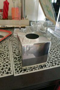 Stainless steel Kleenex  holder 2060 mi
