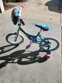 Girls bike with training wheels (removable) Reidville