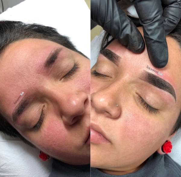 Permanent Cosmetic Ombré Shading Eyebrow Artist 0