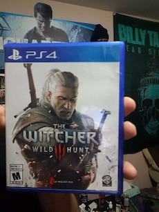 Sony PS4 The Witcher Wild Hunt