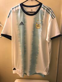 Adidas 2019 Argentina Home Authentic Soccer Football Jersey Climachill $130 Size XL Xlarge Milpitas, 95035