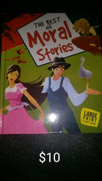 Moral stories hard cover large print Singapore, 439443
