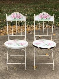Heavy Metal & Mosaic Ceramic Tile Fold Up Chairs Clarksville, 37043