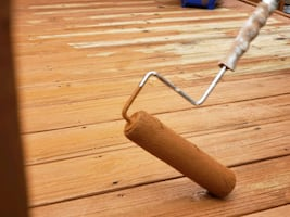 Free Quote- Deck Staining and Wallpaper Removal