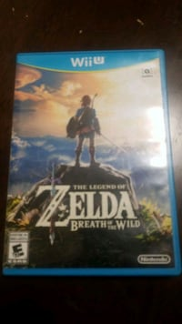 The legend of ZELDA breath of the wild wii u Toronto, M3L 2E4