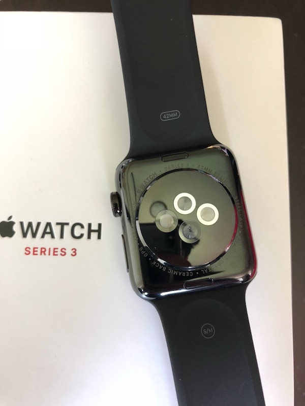 Apple Watch series 3 42mm cellular stainless steel with APPLE CARE