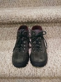 Pre-lovedWomen's Size 6 Leather PRADA Hiking Boots
