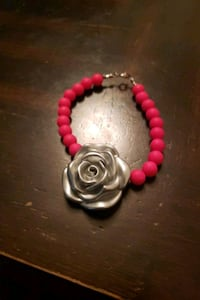 Custom silver rose bracelet  Virginia Beach, 23464